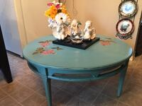 Vintage Rose shabby chic Coffee table. Just finished this little piece of heaven. Argyle park pu.  Regina, S4R 6L6