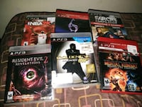 three assorted PS3 game cases Jackson, 38305