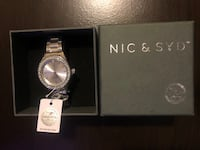 NIC and SYD women's watch silver (BRAND NEW) Mississauga, L5M 0T8