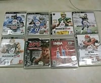 Ps3 games (not scratched) Jacksonville, 32210