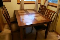 6 chair dinning set with 6 chairs Milwaukee, 53221