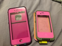 two pink and black iPhone cases Penticton, V2A 7K4