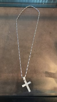 Silver chain necklace with pendant Houston, 77091