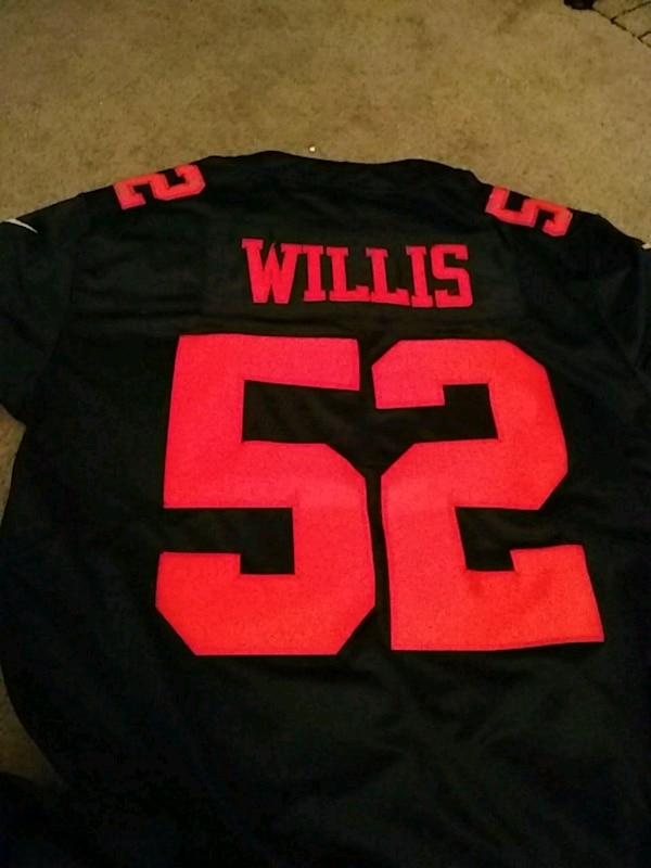 1847e0f0c Used 49ers patrick willis jerseys throwback for sale in Pacifica - letgo
