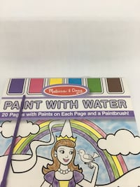 New Princess paint with water book Worth, 60482