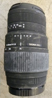 Sigma 70-300mm f/4-5.6 DG Macro Lens for Canon EOS Woodstock, 22664