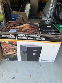 Gas Smoker (Brand new in box)