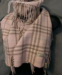 NEW WITH TAGS AUTHENTIC BURBERRY 100% CASHMERE SCARF  Coquitlam, V3K 1P4