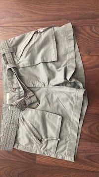 Gray and black cargo shorts size 9   Abbotsford, V3G 0B7
