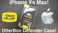 APPLE DEFENDER PRO IPHONE XS MAX BLACK WEB District Heights, 20747
