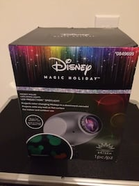 The Disney Mickey Mouse Cascading Lights LED Projection Spotlight Xmas Multi-Colored Moore, 29369
