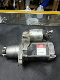 TOYOTA STARTER, ALTERNATOR AND MOOR, FRONT END PAR
