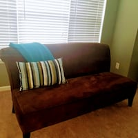 "72"" armless roll back lounge sofa / couch  Ellicott City"