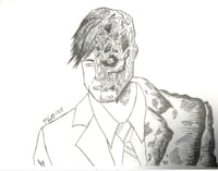 Two face art
