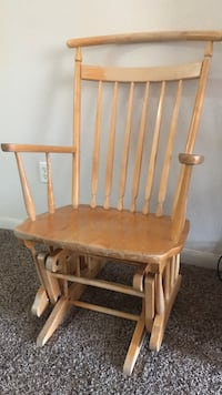 brown wooden windsor rocking chair Norman, 73072