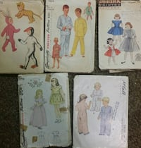 Vintage clothing patterns  Vancouver, 98661