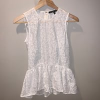 Cynthia Steffe Floral Lace Top