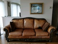 3 Seater Leather Couch Vancouver