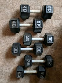 Dumbbells - excellent condition Stafford, 22556