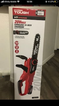 Hypertough 20v max cordless 10inch chainsaw