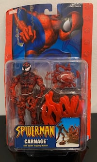 Rare - Collectible   CARNAGE Action Figure