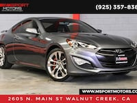 2016 Hyundai Genesis Coupe 3.8 Ultimate Walnut Creek, 94597