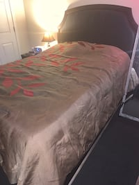 Queen Size Bed W/Full Frame