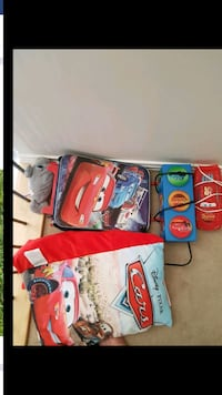 Cars theme lights pillow book and suitcase  Edmonton, T5Y 3C8
