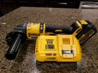 yellow and black Dewalt cordless power drill Burnaby, V5E 3A3