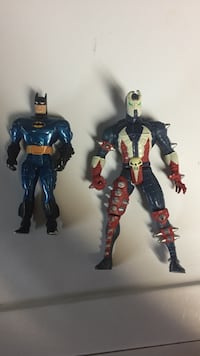 Batman and Spawn action figures