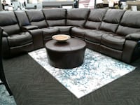 Brand New Brown Leather Reclining Sectional  Norfolk, 23503