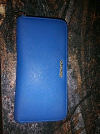 blue Kate Spade leather wallet Moore, 73160
