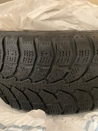 Winter tires with steel rims  Toronto, M9W 3X3