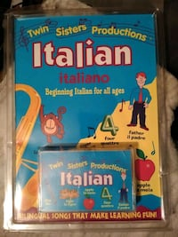 Learn Italian book and cassette