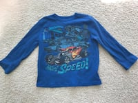 Hot Wheels Boy's Shirt, Size 4/5 Manassas, 20112