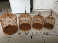 Decorative Cages $90 for 4 Mississauga, L5W