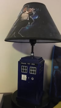 Doctor Who Lamp Calgary, T2C 1H5