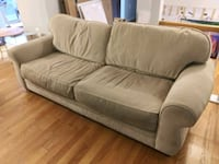 gray fabric 2-seat sofa Fairfax, 22032