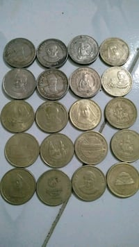 round silver-colored coins Mumbai, 400709