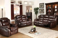Brand New Brown Reclining Sofa&Loveseat for Sale in Baltimore! Baltimore, 21218