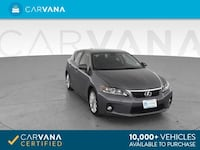 2012 *Lexus* *CT* CT 200h Hatchback 4D hatchback Gray Downey