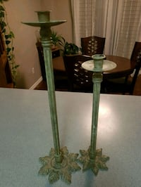 green and black table lamp Barrie
