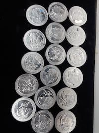 round silver-colored coin collection Queens, 11368