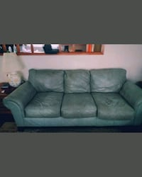 Used very nice real leather couch 125 obo Cleveland, 37312