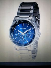 Citizen Eco-Drive blue dial stainless steel watch St. Peters, 63376