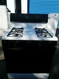 black and white gas range oven Marlow Heights, 20748