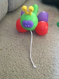 Caterpillar Pull Toy
