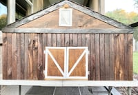 Toy Wooden Barn for Traditional Breyer Horses