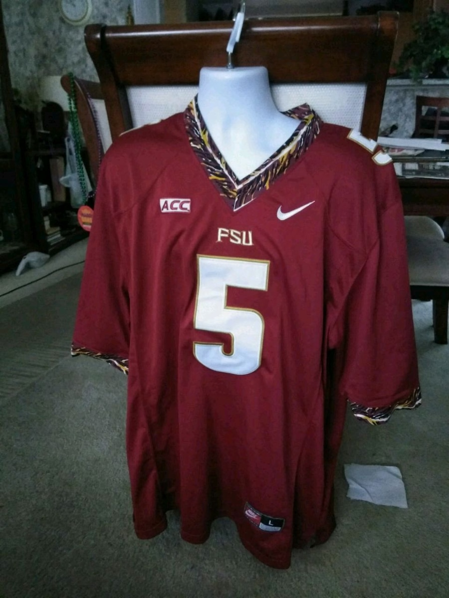 784acc72692 FSU Seminole Apparel | Nike Men\u0027s Baseball Jersey with Interlock FS;