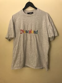 Size L Disneyland Embroidered Tee Burnaby, V3J